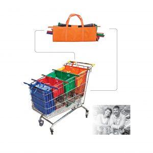 סל קניות לעגלה בסופר
