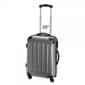 מזוודות טרולי עליה למטוס