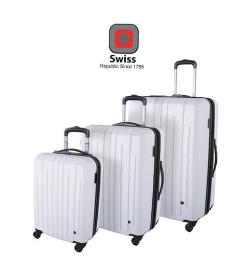 משהו רציני סט מזוודות swiss - גרין ליין פלוס FI-23