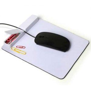 פד לעכבר עם מפצל USB